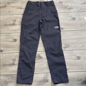 The North Face Boy's Gray Pants Size M (10/12)